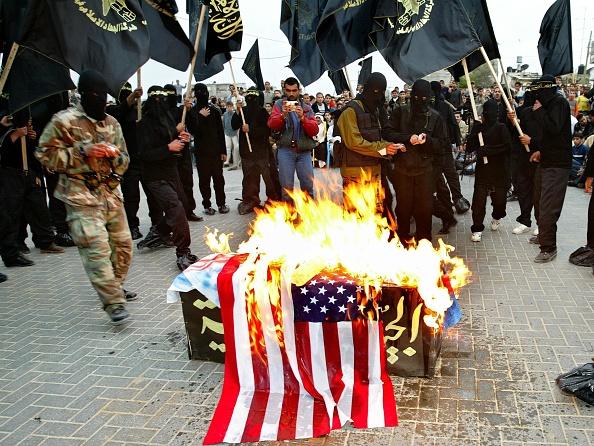Rebellion「Palestinian Militant Group Jihad Holds Demonstration」:写真・画像(17)[壁紙.com]