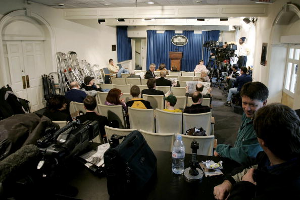 プレスルーム「White House Press Room May Undergo Renovation」:写真・画像(9)[壁紙.com]
