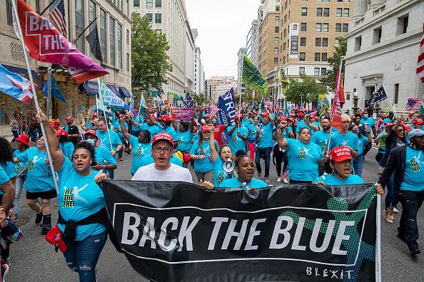 Event「Participants Of President Trump's White House Rally March Through D.C.」:写真・画像(2)[壁紙.com]