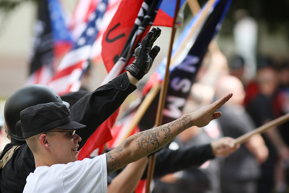 Motion「National Socialist Movement Holds Rally In Los Angeles」:写真・画像(14)[壁紙.com]