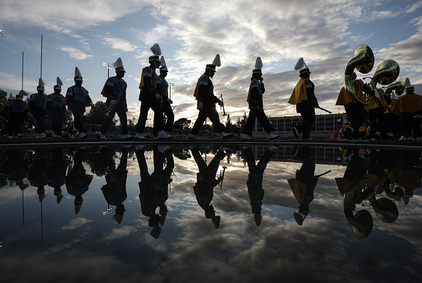 """Pasadena - California「Marching Bands For Tournament Of Roses Parade Participate In """"Bandfest""""」:写真・画像(12)[壁紙.com]"""