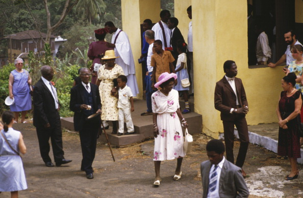 Religious Mass「Church Services Of The Krio Villages」:写真・画像(14)[壁紙.com]
