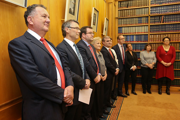 Politician「David Cunliffe Announces Shadow Cabinet Line-up」:写真・画像(5)[壁紙.com]