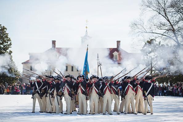 Drew Angerer「George Washington's Birthday Celebrated At His Mount Vernon Estate」:写真・画像(8)[壁紙.com]
