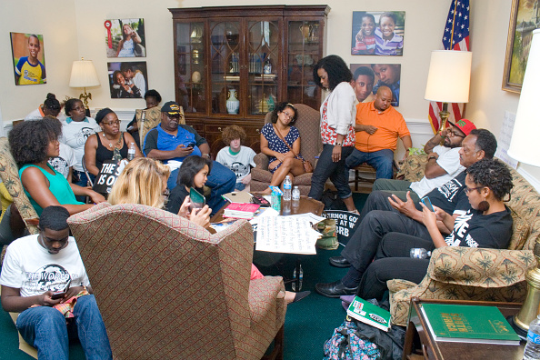 Tallahassee「Dream Defenders At The Florida Governor's Office」:写真・画像(11)[壁紙.com]