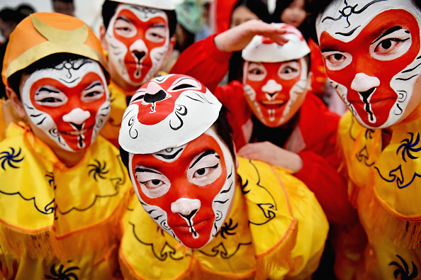 伝統的な祭り「Glasgow Celebrates The Chinese New Year For The First Time」:写真・画像(14)[壁紙.com]