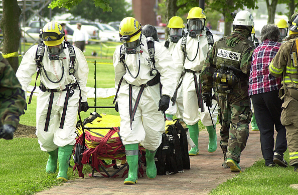 Chemical「Anti-Terrorism Drill Is Held In Maryland」:写真・画像(14)[壁紙.com]