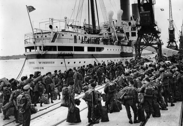 HMT Empire Windrush「Off To Korea」:写真・画像(6)[壁紙.com]