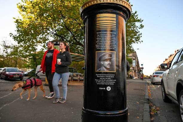 Post Boxes Painted To Honour Black Britons During Black History Month:ニュース(壁紙.com)
