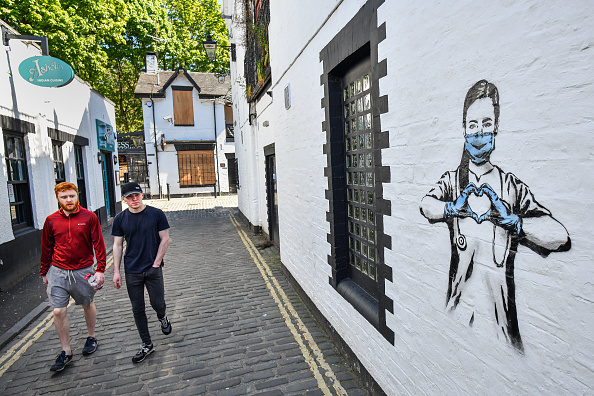 Graffiti「UK In Seventh Week Of Coronavirus Lockdown」:写真・画像(7)[壁紙.com]