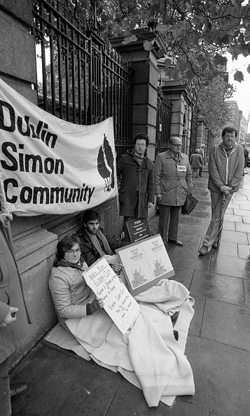 City Life「Dublin Simon Community outside Dail Eireann 1986」:写真・画像(3)[壁紙.com]