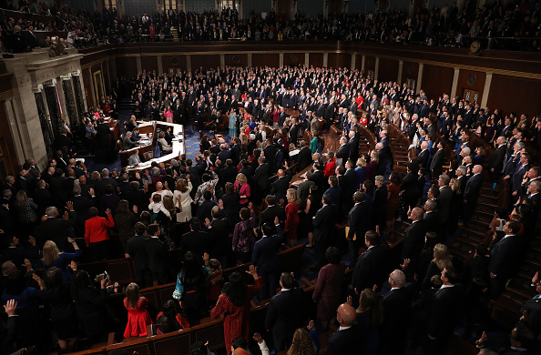 House Of Representatives「House Of Representatives Convenes For First Session Of 2019 To Elect Nancy Pelosi (D-CA) As Speaker Of The House」:写真・画像(4)[壁紙.com]