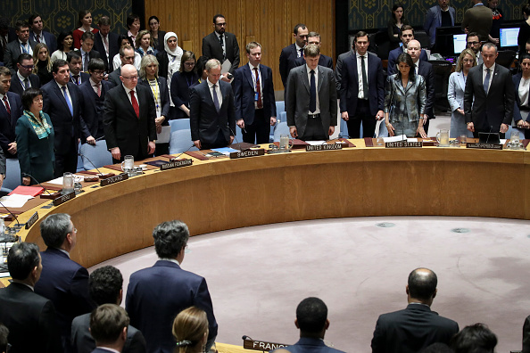 United Nations Building「Palestinian President Abbas Attends UN Security Council Meeting」:写真・画像(3)[壁紙.com]