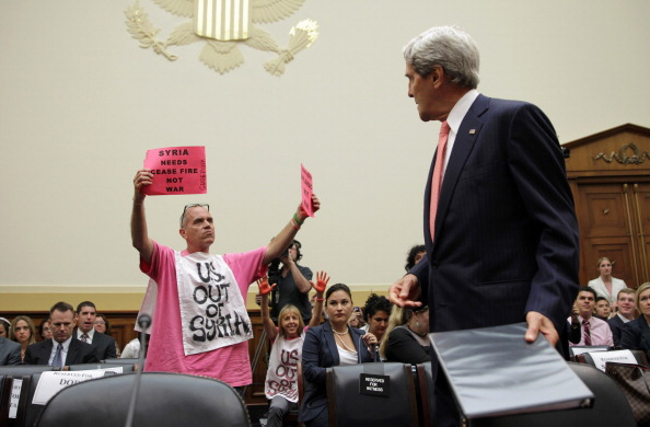 Alex Wong「Kerry And Hagel Testify Before House Foreign Affairs Committee On Syria」:写真・画像(11)[壁紙.com]