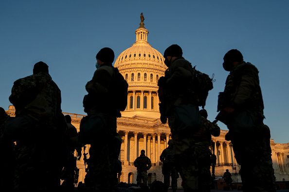 Capitol Hill「Washington, DC Prepares For Potential Unrest Ahead Of Presidential Inauguration」:写真・画像(9)[壁紙.com]