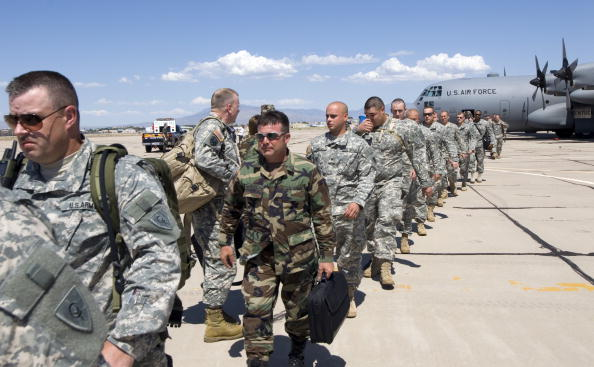 Armed Forces「Kentucky National Guard Arrives In Arizona」:写真・画像(15)[壁紙.com]