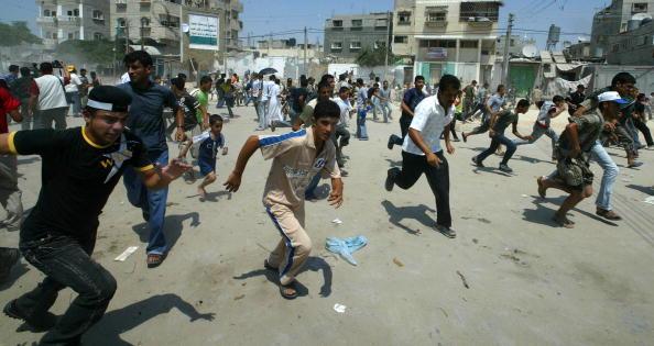 Gaza Strip「Hamas Police  Arrests Fatah Protesters In Gaza」:写真・画像(19)[壁紙.com]