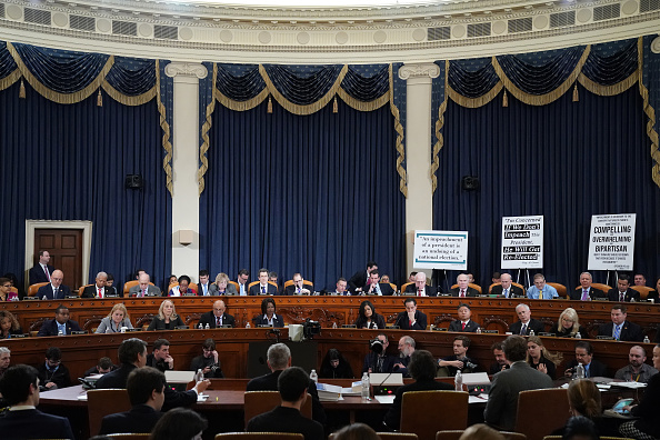 Court Hearing「House Judiciary Committee Holds First Impeachment Inquiry Hearing」:写真・画像(6)[壁紙.com]