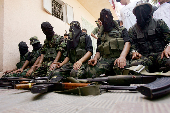 Terrorism「Islamic Jihad Hold Gaza Rally」:写真・画像(2)[壁紙.com]