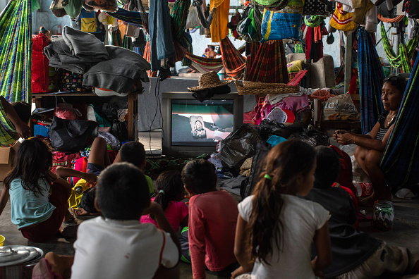 Refugee「Escaping Hunger And Chaos, Venezuelans Take Refuge In Brazilian Border Towns」:写真・画像(12)[壁紙.com]