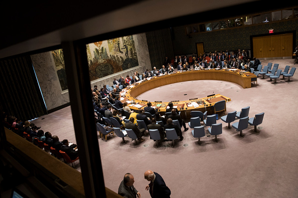 United Nations Building「Poland's President Chairs A Meeting Of The United Nations Security Council」:写真・画像(14)[壁紙.com]