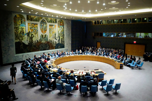 United Nations Building「John Kerry Chairs UN Security Council Meeting On Iraq」:写真・画像(11)[壁紙.com]
