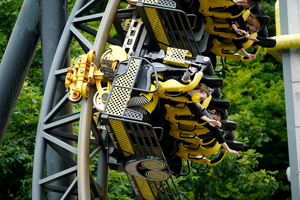 Amusement Park Ride「Alton Towers Reopens Its Doors To Thrill Seekers」:写真・画像(7)[壁紙.com]