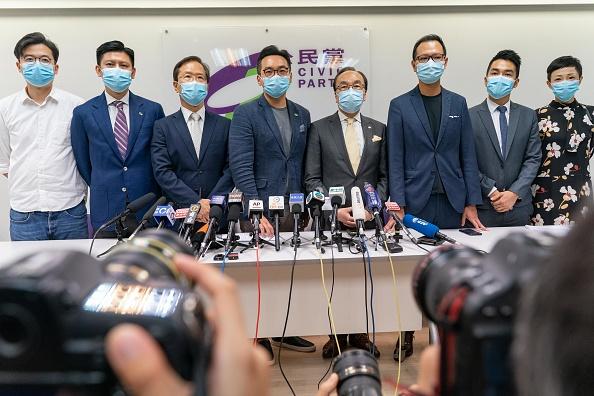 Pro-Democracy「Hong Kong Scheduled To Hold Legislative Election Amid The Coronavirus Pandemic」:写真・画像(3)[壁紙.com]