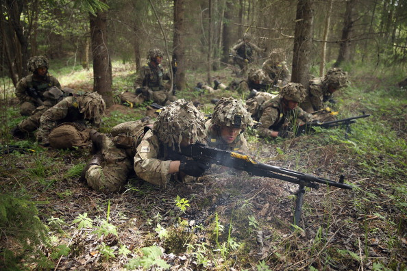 "Copy Space「NATO Holds ""Spring Storm"" Military Exercises」:写真・画像(11)[壁紙.com]"
