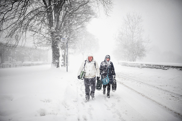 Snow「Storm Emma Meets The Beast From The East Bringing Further Snow Chaos To The UK」:写真・画像(19)[壁紙.com]