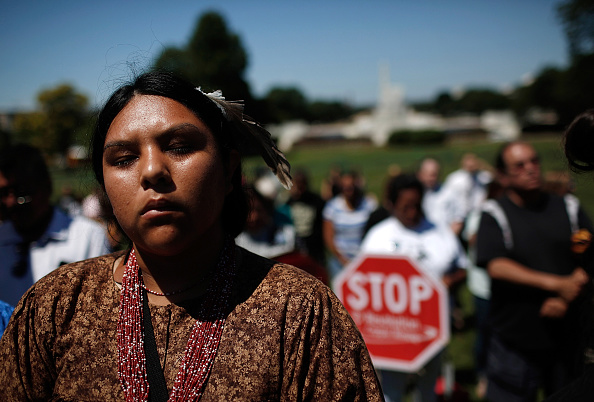 Win McNamee「Representatives of The San Carlos Apache Nation Hold Protest Protest Over Land Swap Within The Nat'l Defense Authorization Act」:写真・画像(0)[壁紙.com]