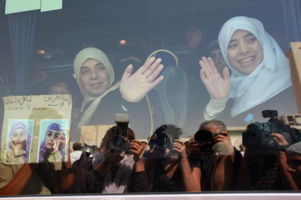 West Bank「Israel Swaps Palestinian Prisoners For Gilad Shalit Tape」:写真・画像(17)[壁紙.com]