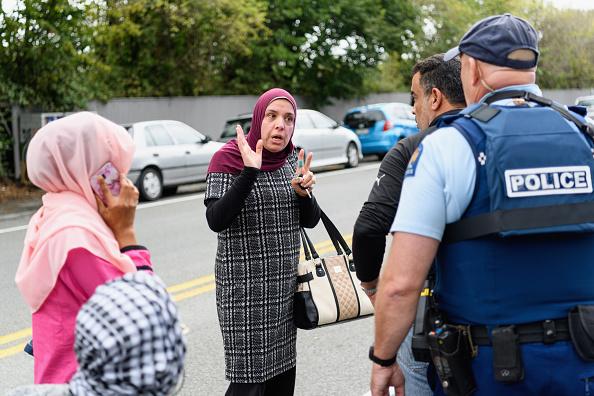 New Zealand「Christchurch In Lockdown Following Fatal Mosque Shooting」:写真・画像(2)[壁紙.com]