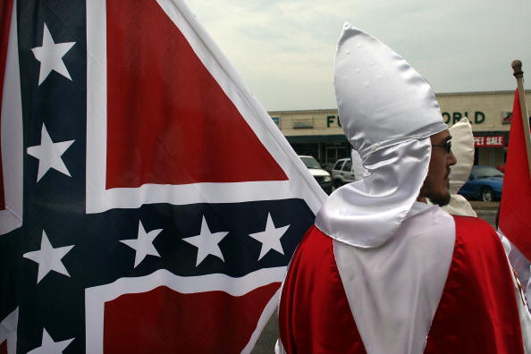 Southern USA「Ku Klux Klan Holds Annual Gathering In Tennessee」:写真・画像(2)[壁紙.com]