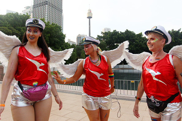 Sydney「Sydney Celebrates 42nd Annual Sydney Gay & Lesbian Mardi Gras Parade」:写真・画像(4)[壁紙.com]