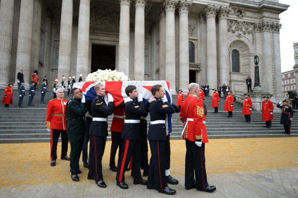 Jeff J Mitchell「The Ceremonial Funeral Of Former British Prime Minister Baroness Thatcher」:写真・画像(19)[壁紙.com]