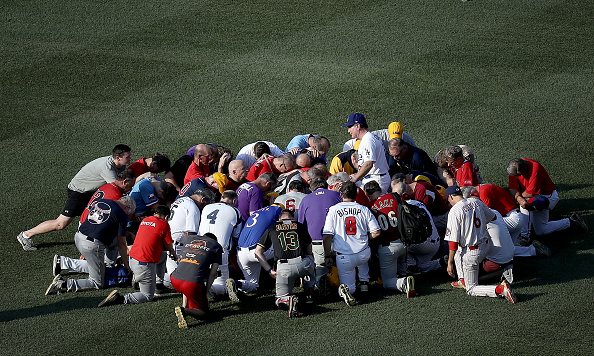 野球「Lawmakers Play In Congressional Baseball Game One Day After Shooting Incident」:写真・画像(13)[壁紙.com]