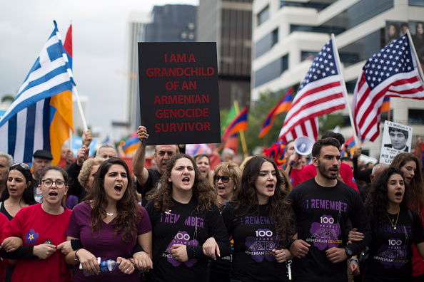 USA「Marches Across The Country Mark The 100th Anniversary Of The Armenian Genocide」:写真・画像(0)[壁紙.com]