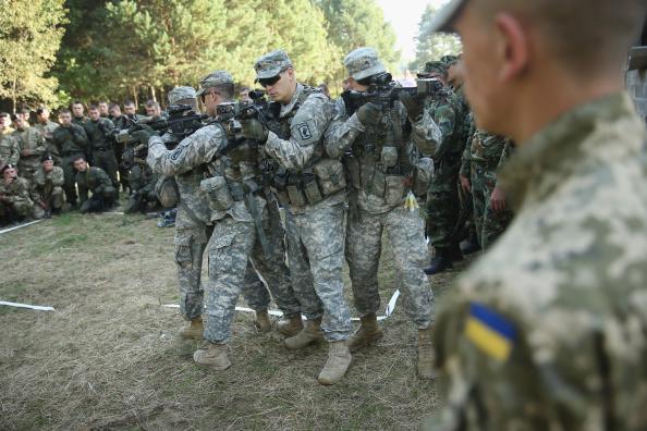USA「'Rapid Trident' Military Exercises In Western Ukraine」:写真・画像(4)[壁紙.com]
