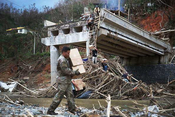 Damaged「Puerto Rico Faces Extensive Damage After Hurricane Maria」:写真・画像(3)[壁紙.com]
