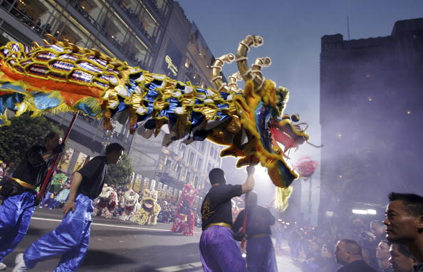 Chinese New Year「Chinese New Year Parade Hits Streets Of San Francisco」:写真・画像(12)[壁紙.com]