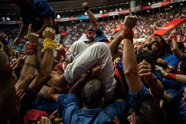 David Ramos「Human Towers Are Built In The Tarragona Castells Competition」:写真・画像(13)[壁紙.com]