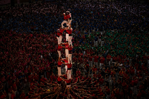 David Ramos「Human Towers Are Built In The Tarragona Castells Competition」:写真・画像(11)[壁紙.com]