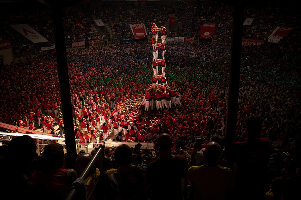 David Ramos「Human Towers Are Built In The Tarragona Castells Competition」:写真・画像(12)[壁紙.com]