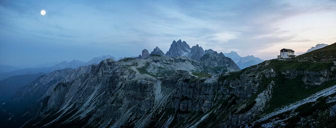 European Alps「Twilight Mountains」:スマホ壁紙(9)