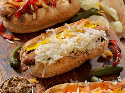 Hot Dog「Gourmet Bratwurst Dogs」:スマホ壁紙(13)