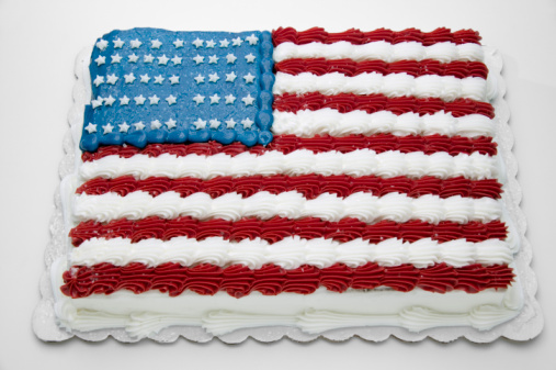Annual Event「Cake with American flag decoration」:スマホ壁紙(4)