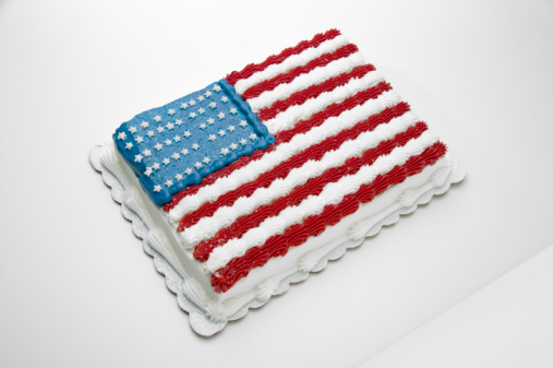 Annual Event「Cake with American flag decoration」:スマホ壁紙(8)