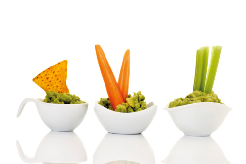Dipping Sauce「Guacamole with vegetable sticks」:スマホ壁紙(13)