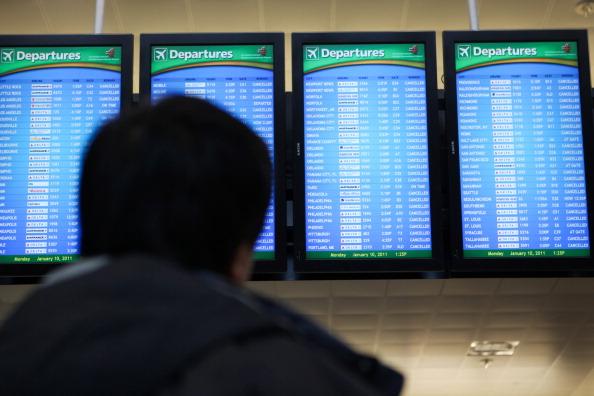 Hartsfield-Jackson Atlanta International Airport「U.S. South Hit By Crippling Winter Storm」:写真・画像(14)[壁紙.com]